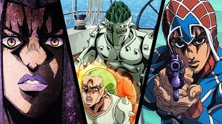 JoJo's Bizarre Adventure: Golden Wind / Vento Aureo Anime Episodes 5-7 Review