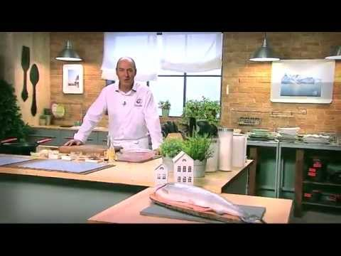 Trucha del Fiordo con setas - Receta