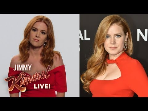 Isla Fisher is NOT Amy Adams
