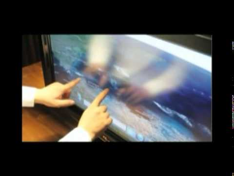 touch screen overlay turns your tv to a touchscreen monitor