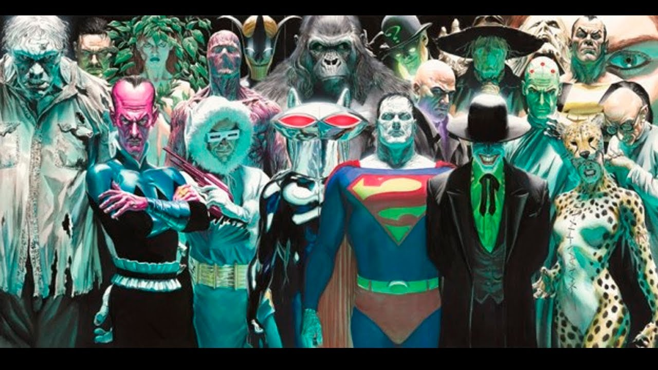 Villains of dc Comics