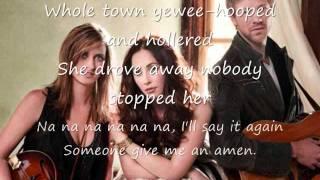 Amen by Eden's Edge with lyrics