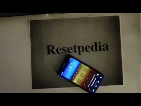 Samsung Galaxy S2 SII Att: HARD RESET Password Removal Factory Restore