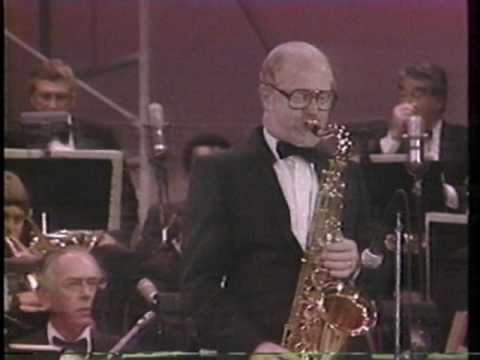 Henry Mancini Live the Pink Panther Theme With Don Menza Sax Solo video