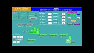 Lập trình hệ thống vận chuyển than bằng băng tải trên wincc và PLC S7-300