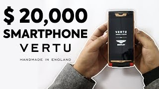 Most expensive ($20,000) smartphone in the world | Telemart.pk | Vertu