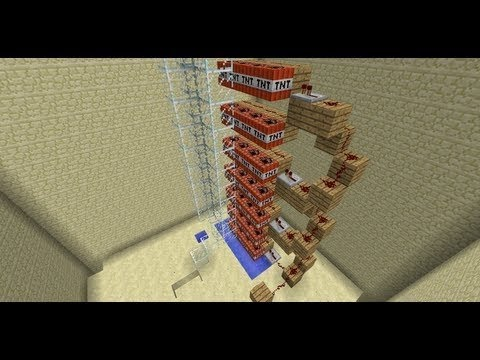 TNT Cannon Elevator: Bedrock to Sky Limit in 2.02 Seconds