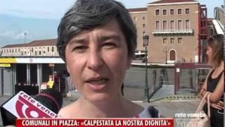 22/08/2014-COMUNALI IN PIAZZA: «CALPESTATA LA NOSTRA DIGNITA'»