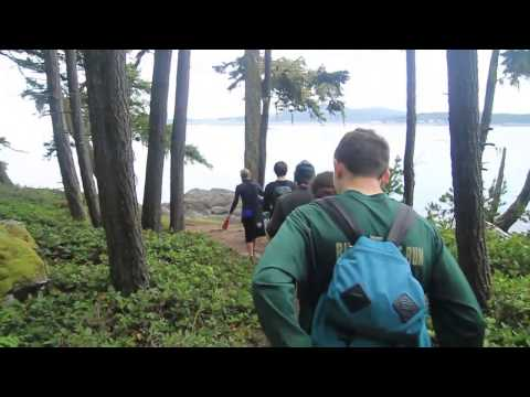 Biking in the San Juan Islands