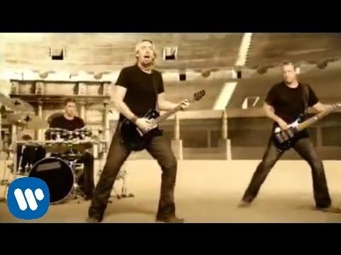 Nickelback - Gotta Be Somebody OFFICIAL VIDEO