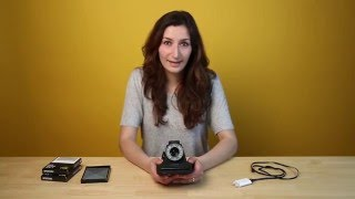How to Take Your First Photo with the I-1 Analog Instant Camera