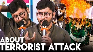 RJ Balaji Expresses Grief Over Pulwama Terrorist Attack | LKG Press Meet | CRPF