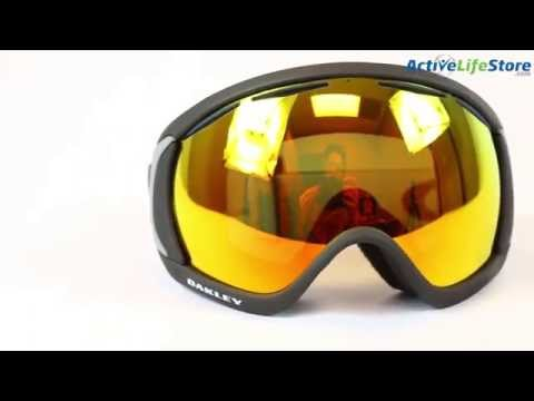 Oakley Canopy Snowboard/Ski Goggle Video Review