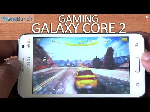 Samsung Galaxy Core 2 Duos Gaming Review