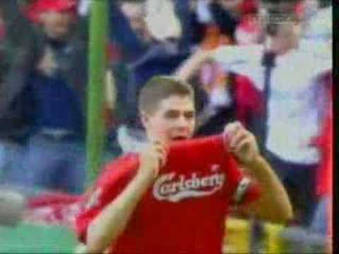 Steven Gerrard Liverpools Pride Saviour Captain And Legend Video