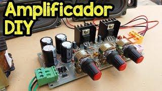 Como fazer um módulo amplificador caseiro Kit DIY