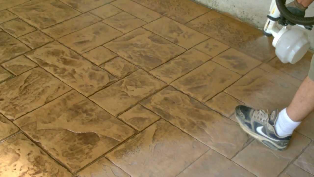 Pavimento in cemento stampato youtube - Piastrelle cemento per esterni prezzi ...