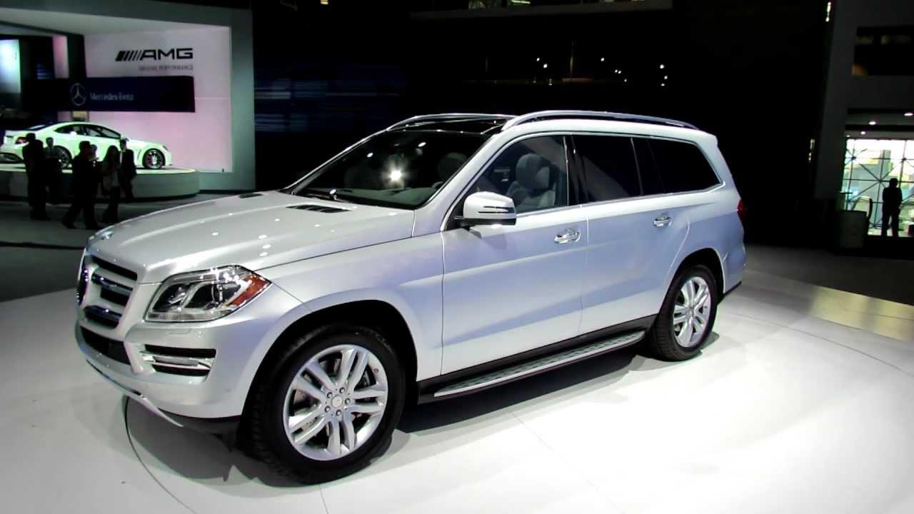 2013 Mercedes Benz Gl450 4matic Exterior And Interior At 2012 New York International Auto Show