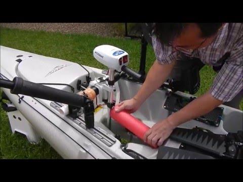 Kayak trolling motor Hobie edition