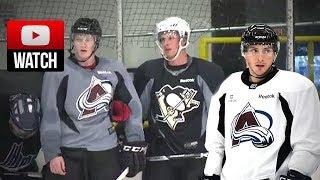 NHL Players Play 2 vs 2 Hockey (Sidney Crosby, Nathan Mackinnon, Matt Duchene, and others)