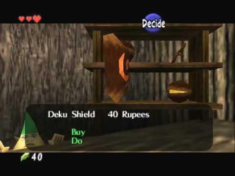The Legend of Zelda - Ocarina of Time - Legend of Zelda Ocarina of Time - Video Tutorial HD Game walkthrough - PART 2 - Kokiri Forest - User video