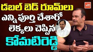 Komatireddy on Double Bedroom Housing Scheme | Telangana Congress | KCR