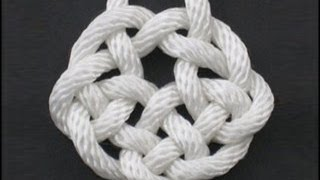 How to Tie the Rising Sun Knot by TIAT
