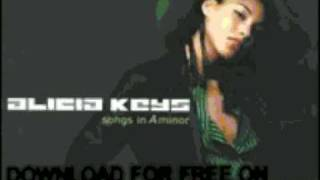 alicia keys - fallin' (remix ft. busta rhym - Songs In A Min