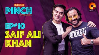 Saif Ali khan | Quick Heal Pinch by Arbaaz Khan | QuPlayTV
