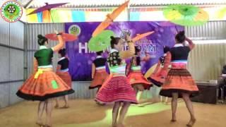 Hluas Nkauj Hmoob Seev Cev  Tsiab 2016 - 2017 - Hmong girl dance New Year - P2