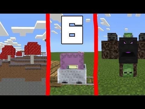 6 ФАКТОВ и СЕКРЕТОВ в Minecraft PE 1.2