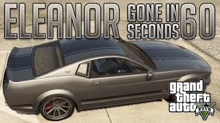 Eleanor Gone in 60 Seconds (Vapid Dominator) : GTA V Custom Car Build