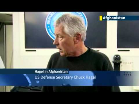 New US Defense Secretary lands in Kabul: Chuck Hagel pays first visit to Afghanistan