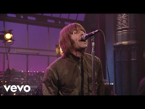 Beady Eye - The Beat Goes On (Live on Letterman)