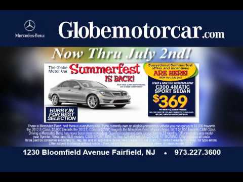 Summerfest at Globe Motor Car. Now through July 2nd