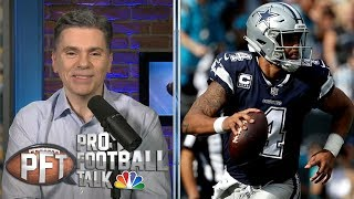 How will Russell Wilson's new deal affect Dak Prescott? | Pro Football Talk | NBC Sports