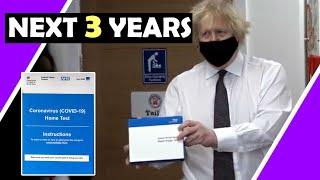 Video: Boris: 'Few more years' of COVID Testing for School Children - Hugo Talks