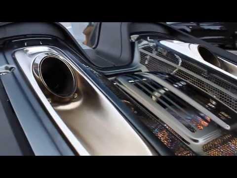 Porsche 918 Reving Hard In Monaco