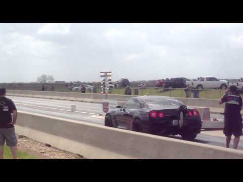 TX2K13 - AMS Alpha Omega GT-R Quarter Mile Run