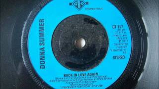 Watch Donna Summer Back In Love Again video