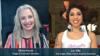 PragerU Live: Pop Artist Joy Villa on Why She Supports Donald Trump (3/10)