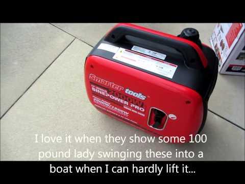 Smarter Tools AP2000iQ Inverter Generator