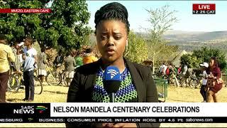 Bicycles handed over to school children in Mvezo