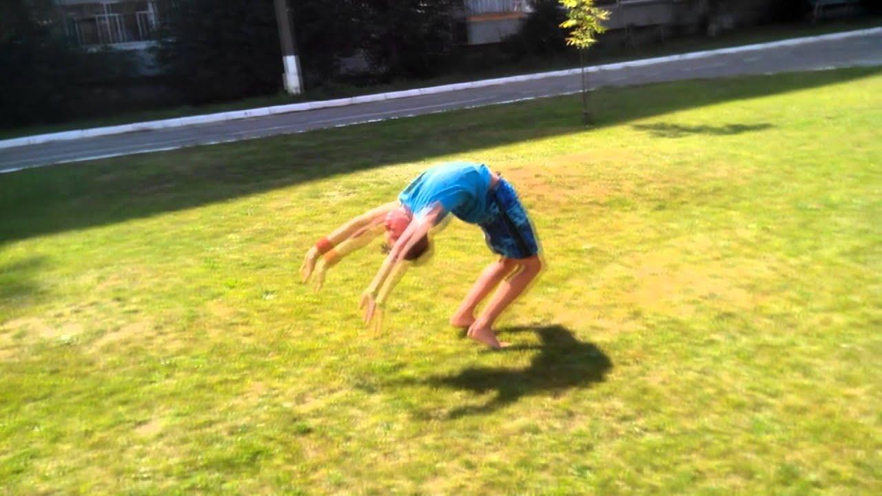 Как научиться делать сальто самому - BroDude