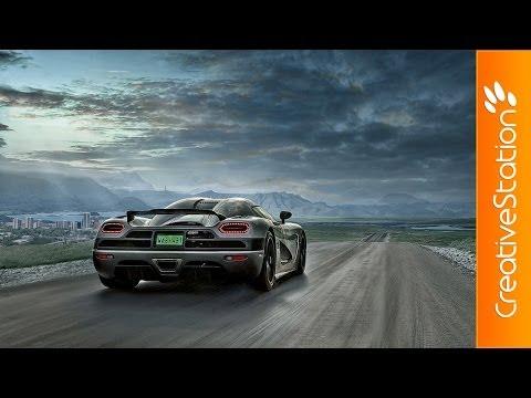 On the road - Speed art ( #Photoshop ) | CreativeStation
