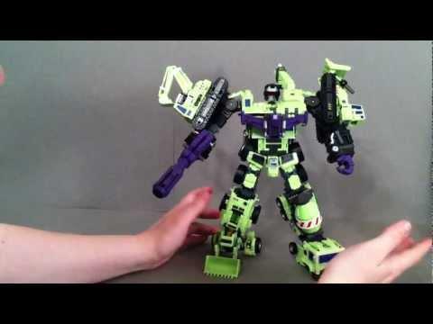 Devastator Combine Mode - Make Toys Green Giant Review