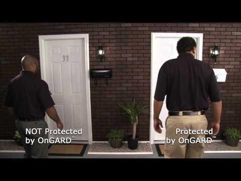 Home Security Door Stop   The OnGARD Brace Prevents Burglaries & Home Invasions.