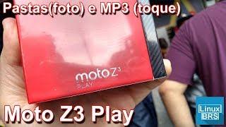 Motorola Moto Z3 Play - Pasta no álbum e MP3 como toque padrão