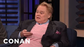 Louie Anderson Doesn't Understand Modern Technology - CONAN on TBS