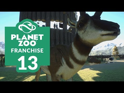 PLANET ZOO | EP. 13 - MAKING BUCKS (Franchise Mode Lets Play)
